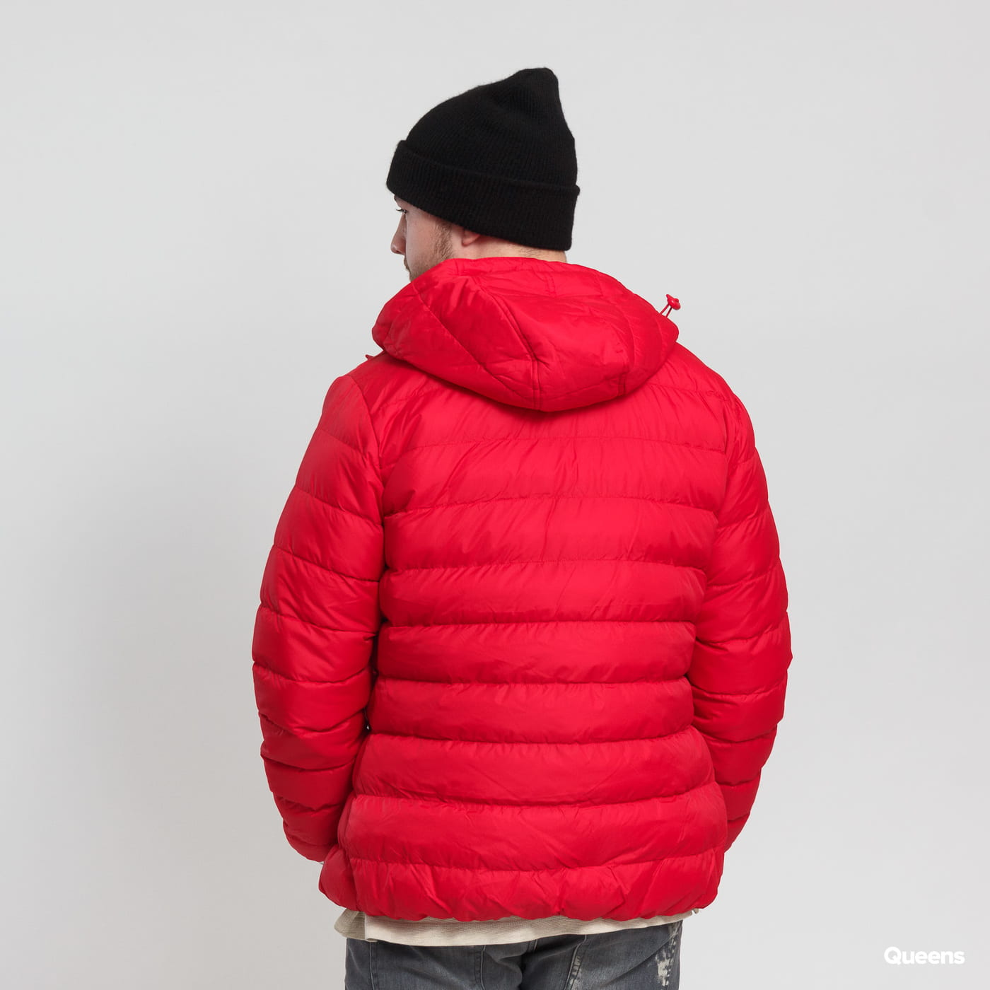 Urban Classics Basic Bubble Jacket červená