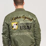 Alpha Industries MA-1 VF Custom zelená