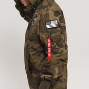 Alpha Industries NASA Anorak camo zelená