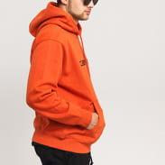 Carhartt WIP Hooded Carhartt Sweat tmavě oranžová