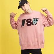 Nike M NSW Crew LS Fleece růžová