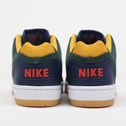 Nike SB Air Force II Low midnight green / habanero red