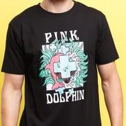 Pink Dolphin PD Plumage Tee černé