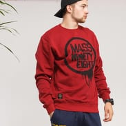 Mass DNM Return Crewneck vínová