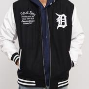 New Era Post Grad Pack Varsity Jacket Detroit Tigers černá / bílá