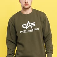 Alpha Industries Basic Sweater dunkeloliv