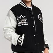 adidas Originals UAS Varsity Jacket černá / bílá