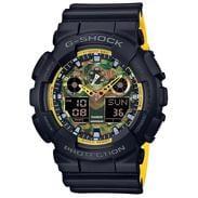 Casio G-Shock GA 100BY-1AER černé / camo