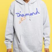 Diamond Supply Co. Trinity Hoodie melange šedá