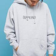 Diamond Supply Co. Split Hoodie melange šedá