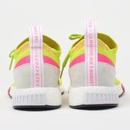 adidas Originals NMD_Racer PK W ftw white/ftw white/semi solar yellow