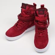 Nike W SF AF1 red crush / red crush - white