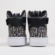 Nike WMNS Air Force 1 HI LX black / black - white - total orange