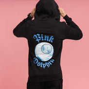 Pink Dolphin PD 8-Ball Reflection Zip Hoody černá