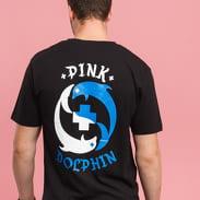 Pink Dolphin PD Ying Yang Tee černé