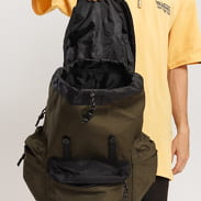 Urban Classics Camo Backpack With Multibags olivový