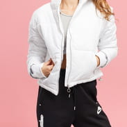 Urban Classics Ladies Oversized High Neck Jacket biela