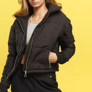 Urban Classics Ladies Oversized High Neck Jacket černá