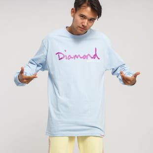 Diamond Supply Co. OG Script LS Tee