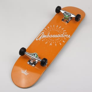 Ambassadors Komplet Skateboard Spin Orange x Mini Logo HW