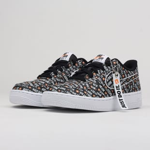 Nike Air Force 1 JDI Premium (GS) black   total orange - white b4218edcc