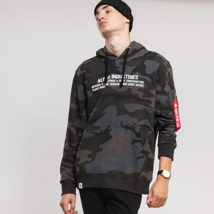 Alpha Industries Cargo Rubber Print Hoody