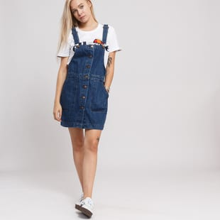 Urban Classics Ladies Denim Dungarees Dress