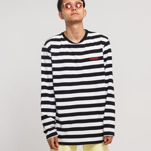 Diamond Supply Co. Striped LS Tee
