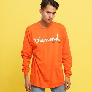 Diamond Supply Co. OG Script LS Tee