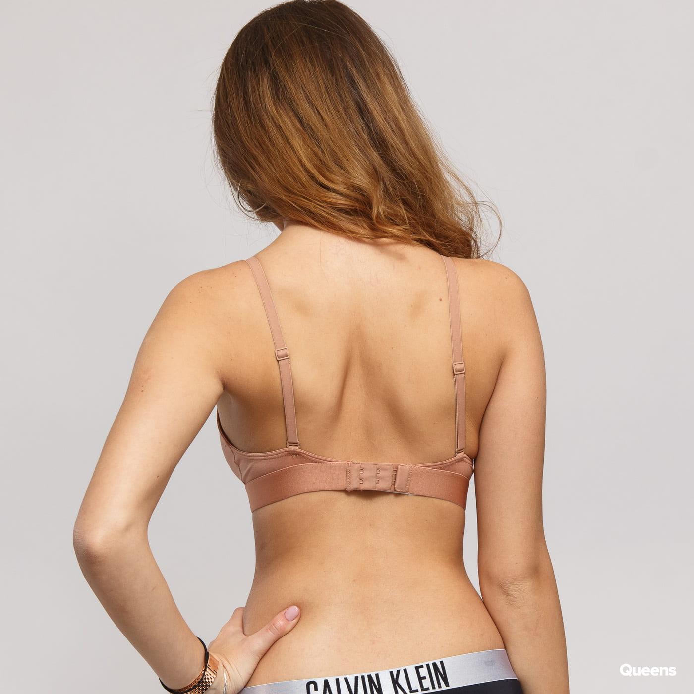Calvin Klein Unlined Triangle béžové