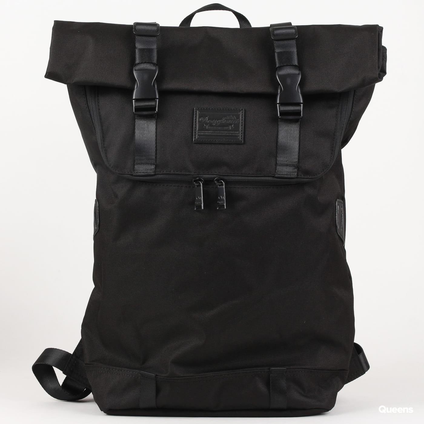 Doughnut Christopher Nylon Backpack schwarz