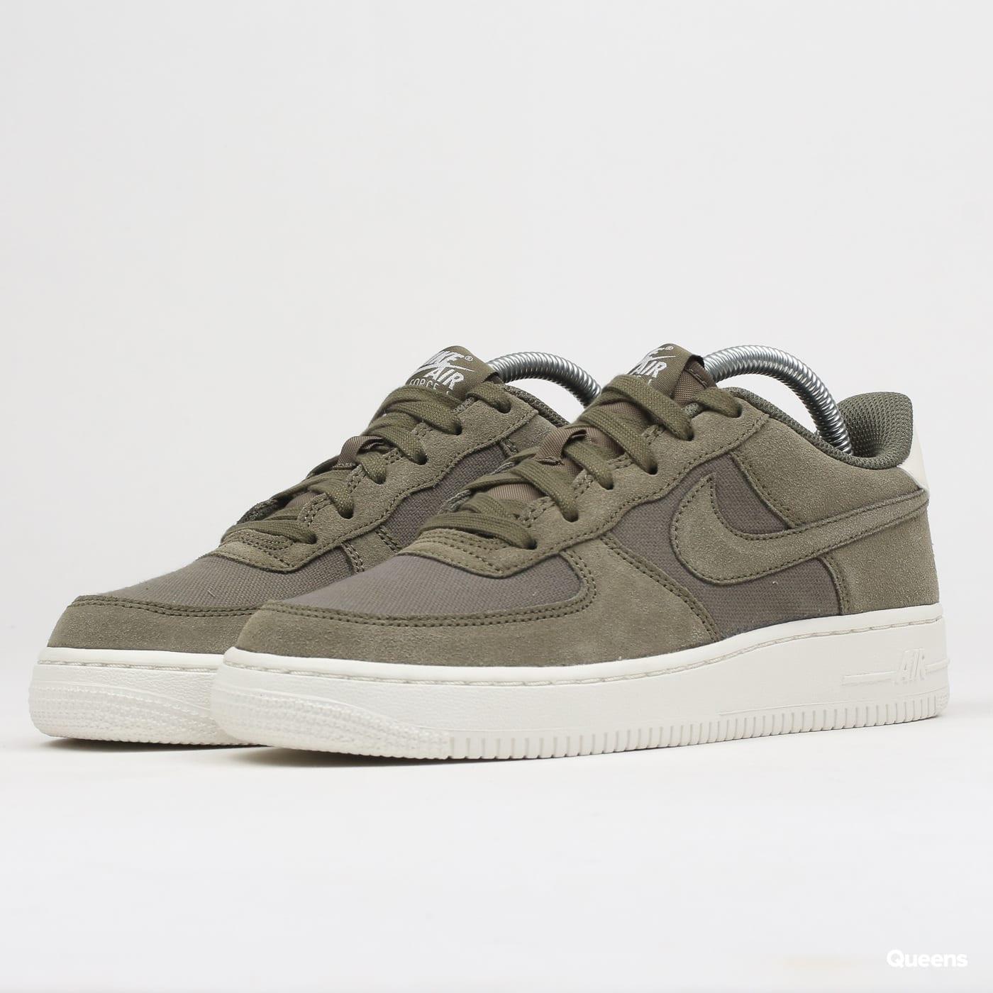 2d11a3358ac Nike Air Force 1 Suede (GS) (AR0265-200) – Queens 💚