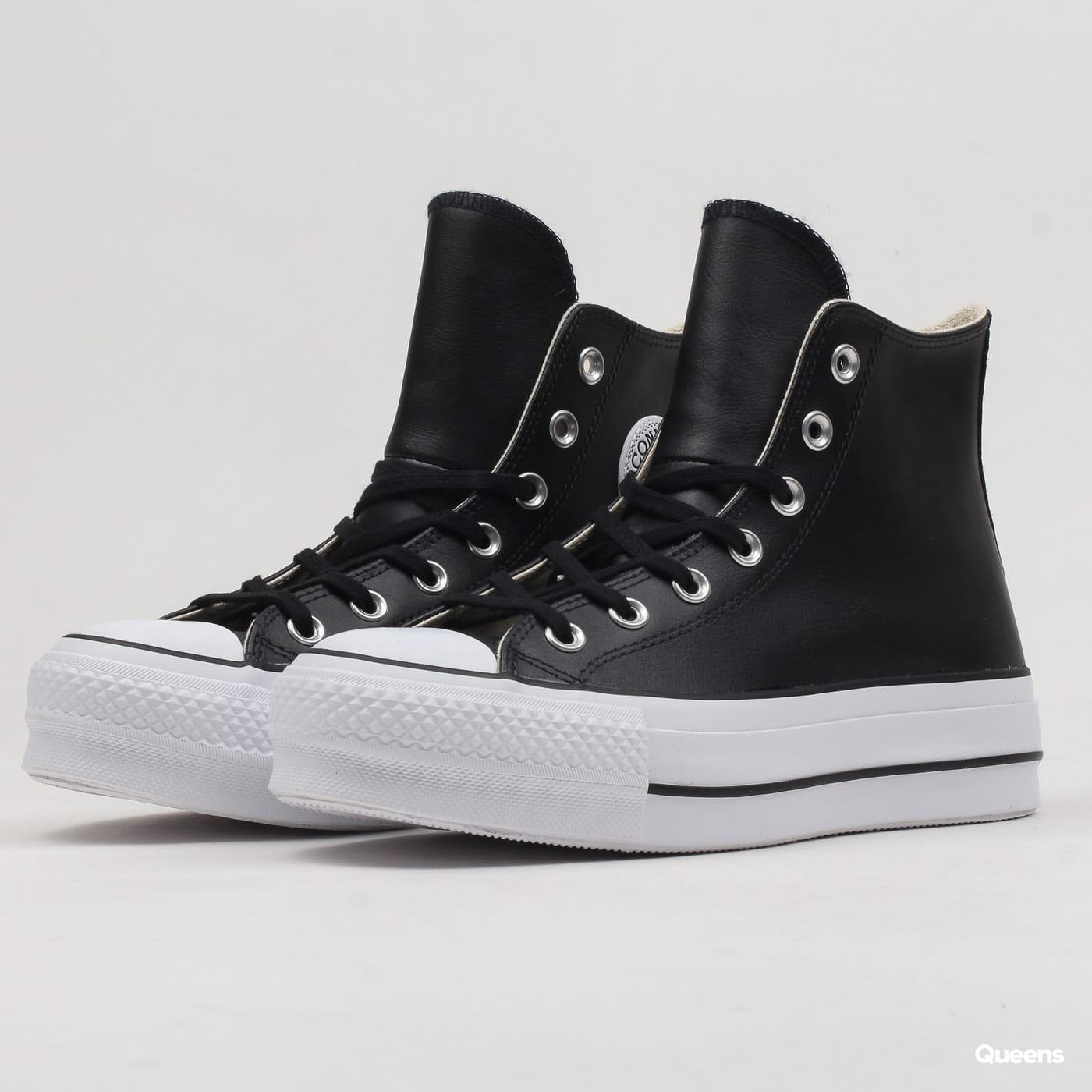 bb6c2459a46 Converse Chuck Taylor All Star Lift Clean Hi (C561675) – Queens 💚