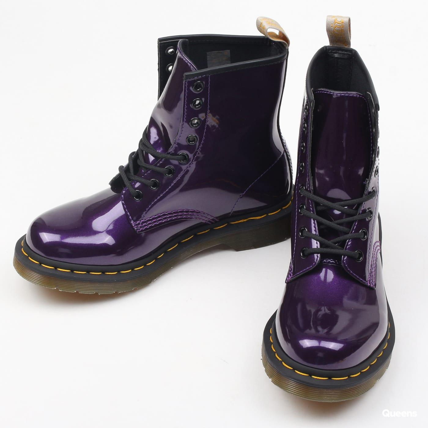 Dr. Martens W 1460 Vegan Chrome dark purple