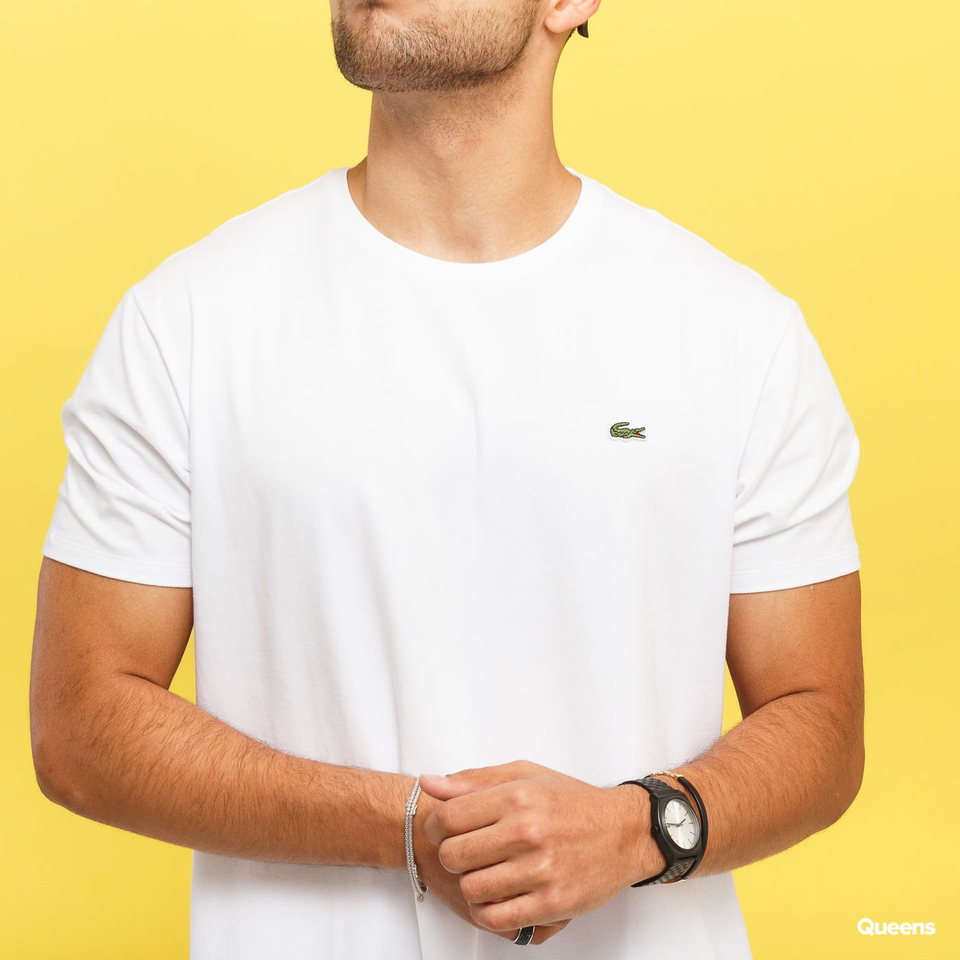 LACOSTE Base T-shirt weiß
