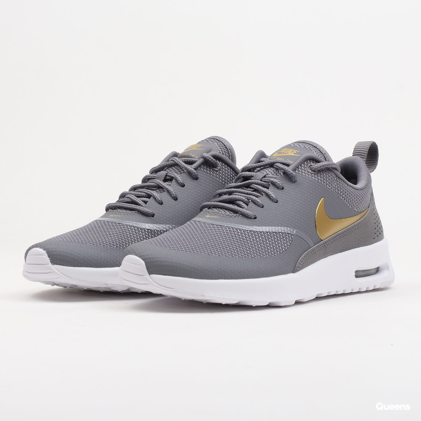 finest selection 1ad13 b4db0 Nike WMNS Air Max Thea J gunsmoke   metallic gold - white (AJ2010-003) –  Queens 💚