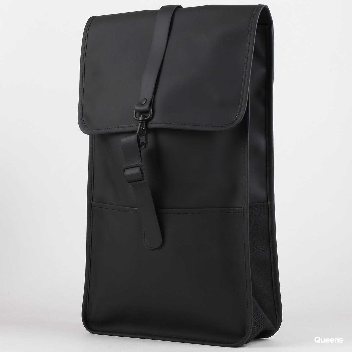 Rains Backpack čierny