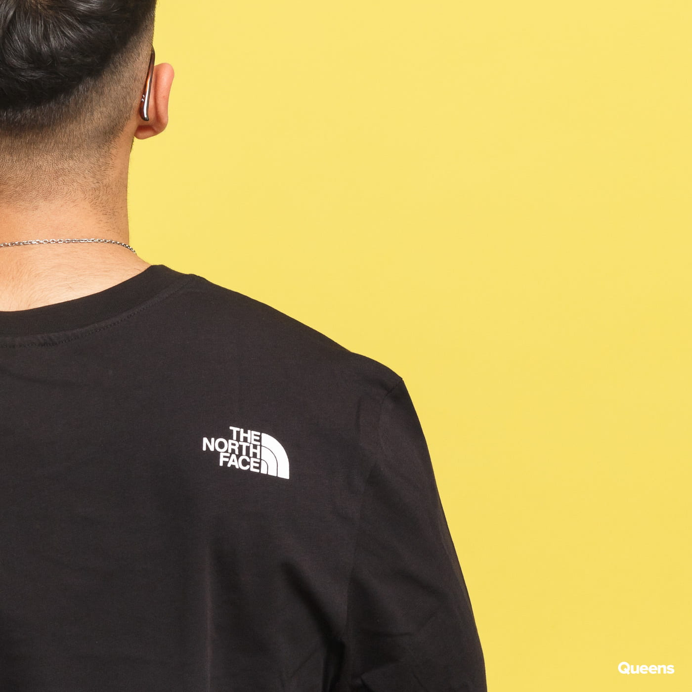 The North Face M LS Simple Dome Tee čierne