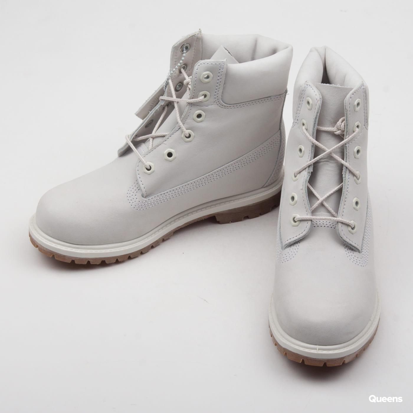 Timberland 6in Premium Boot - W waporous grey waterbuck monochromatic