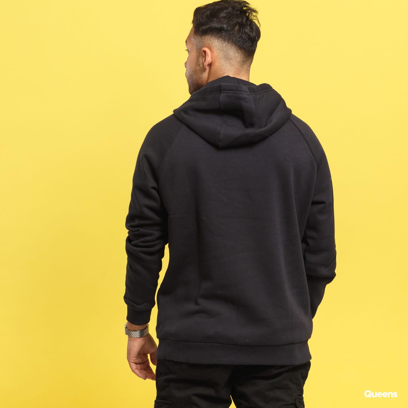 Under Armour Rival Fleece Logo Hoodie black