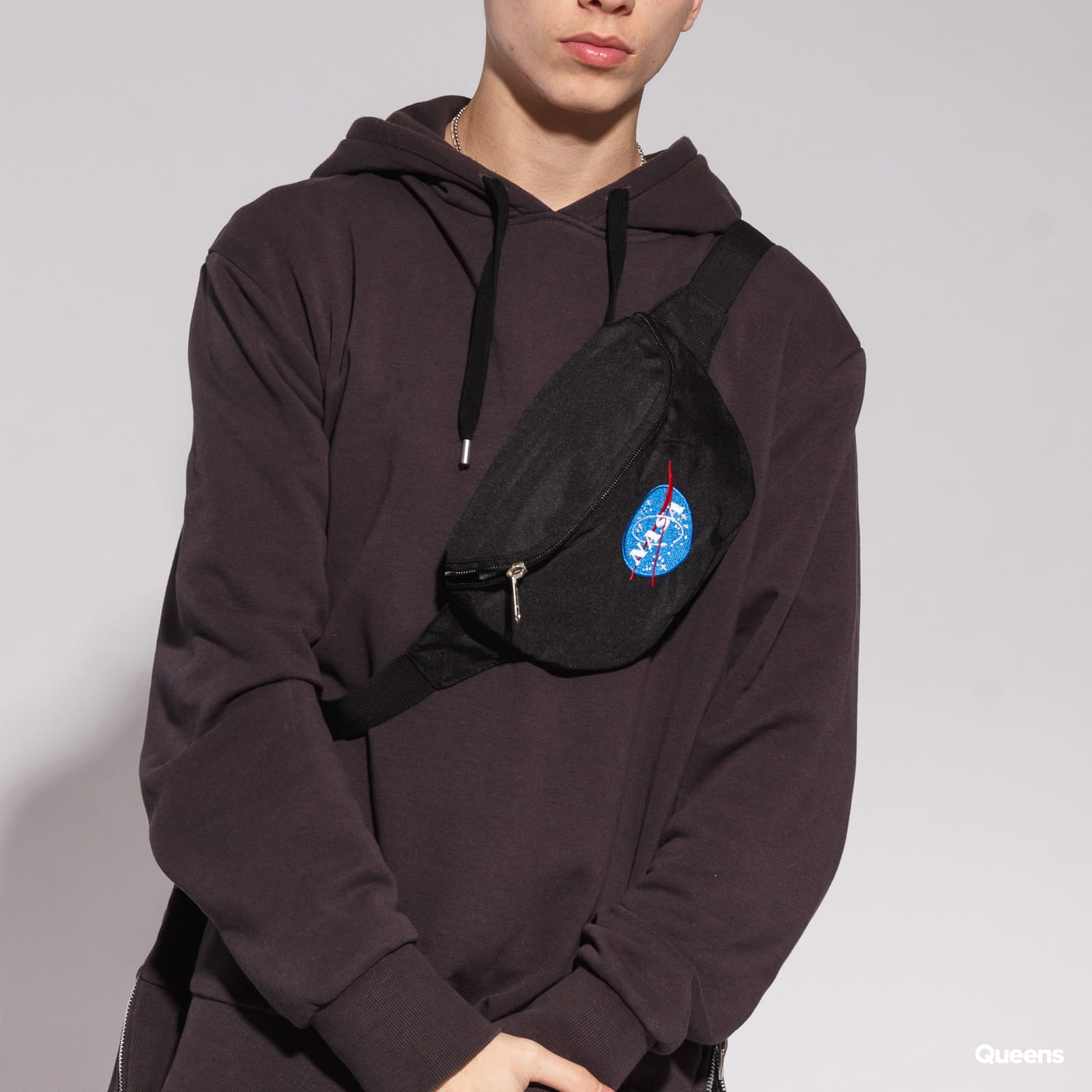 Urban Classics NASA Hip Bag čierna