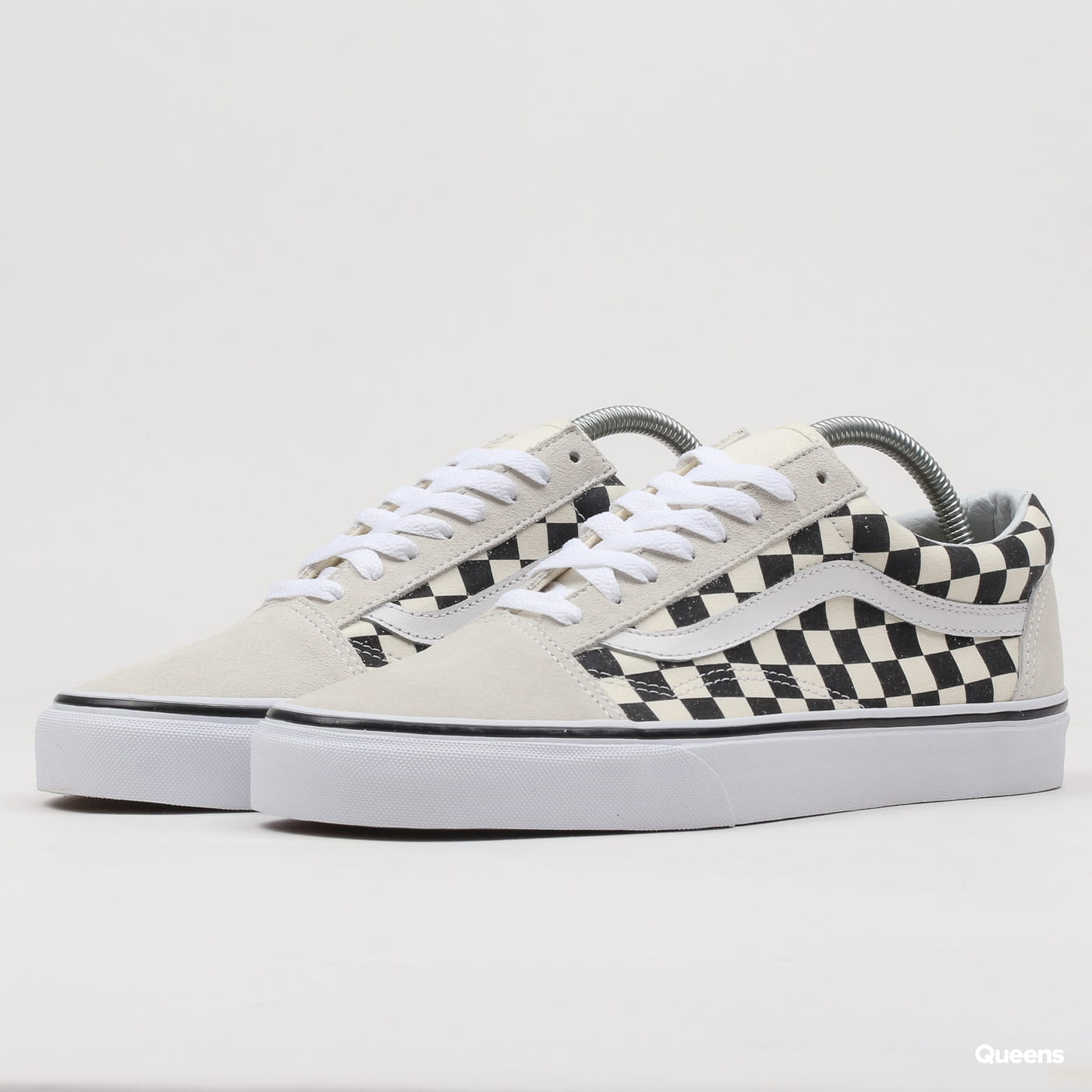 Vans Old Skool (checkerboard) white / black