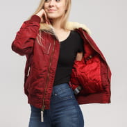 Alpha Industries Injector III Wmn vínová