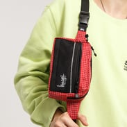Stüssy Ripstop Nylon Waist Bag červená / černá / bílá