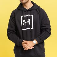 Under Armour Rival Fleece Logo Hoodie černá