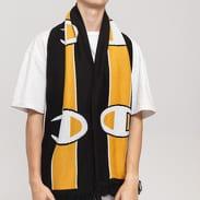 Champion Scarf černá / žlutá / bílá