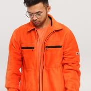 Stüssy Polar Fleece Full Zip oranžová