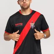 Thrasher Futbol Jersey černý / červený