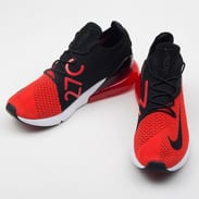 Nike Air Max 270 Flyknit chile red / black - challenge red