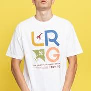 LRG Research Icon Tee bílé
